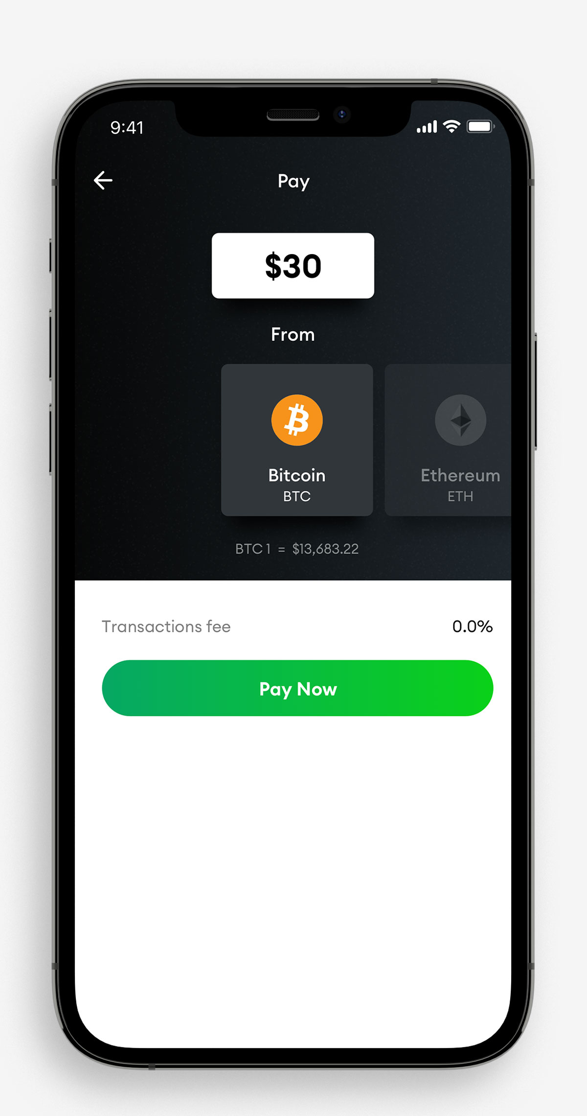 ether to bitcoin conversion